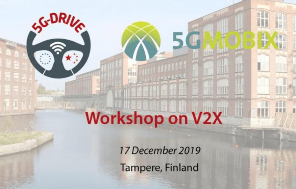 Discuss V2X sector in the 5G era this December in Tampere, Finland