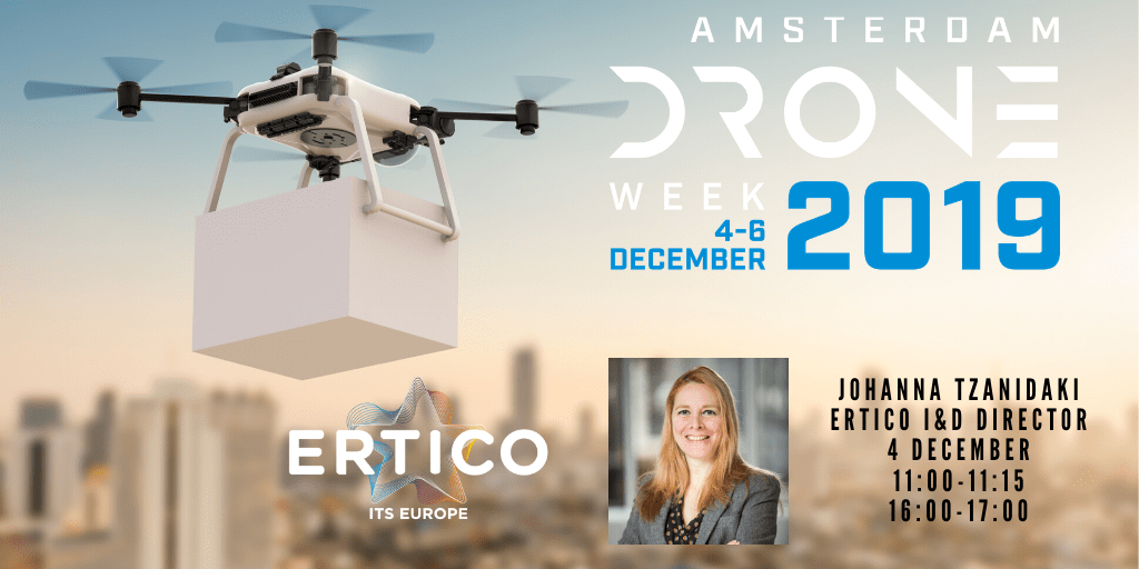 Creating urban air solutions together: ERTICO partners with Amsterdam Drone Week