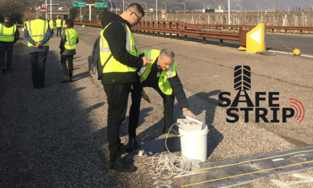 Road technology tested in one of Europe's main North-South corridors