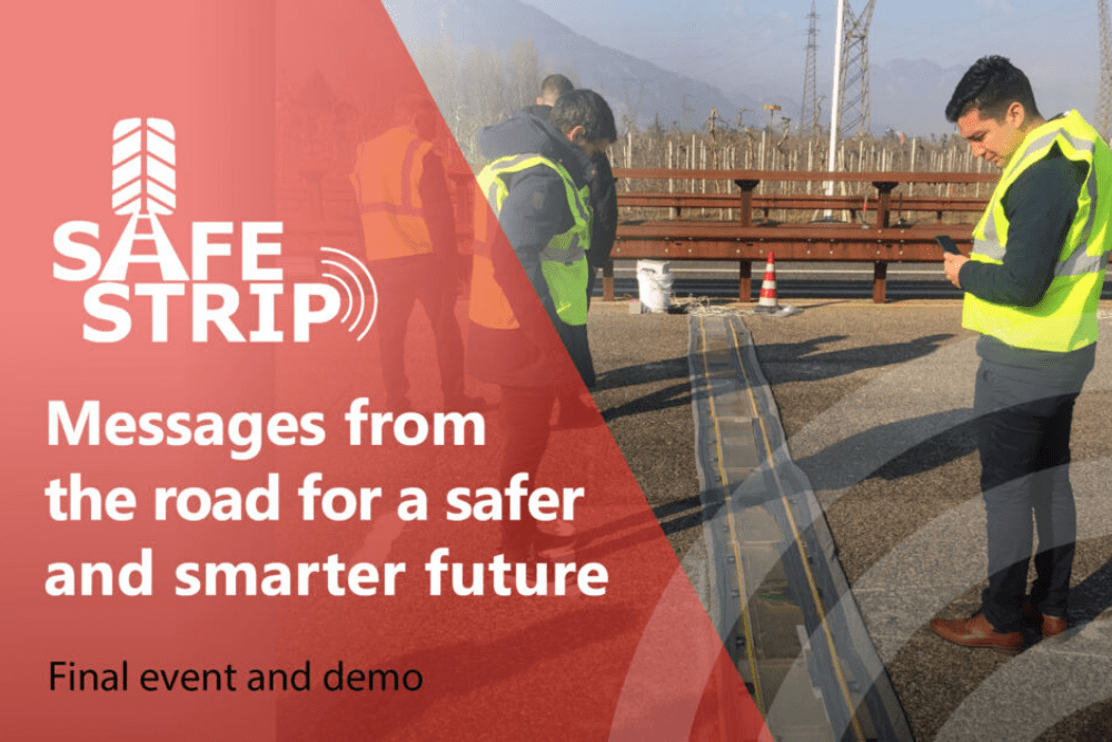 "Register now for the event ""Messages from the road a safer and smarter future"""