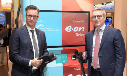 Volkswagen provides a new, innovative solution for ultra-fast charging electric vehicles