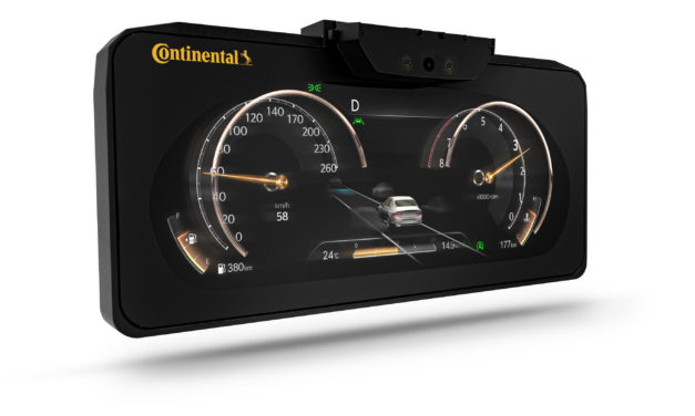 Continental Brings 3D Display on the Road
