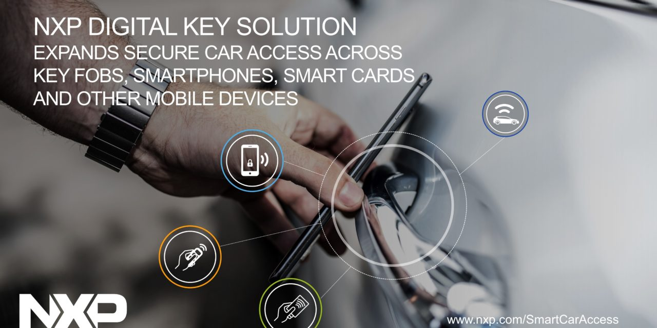 NXP Digital Key Solution Expands Secure Car Access
