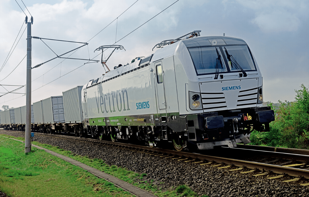 Siemens Mobility sells its 1,000th Vectron locomotive