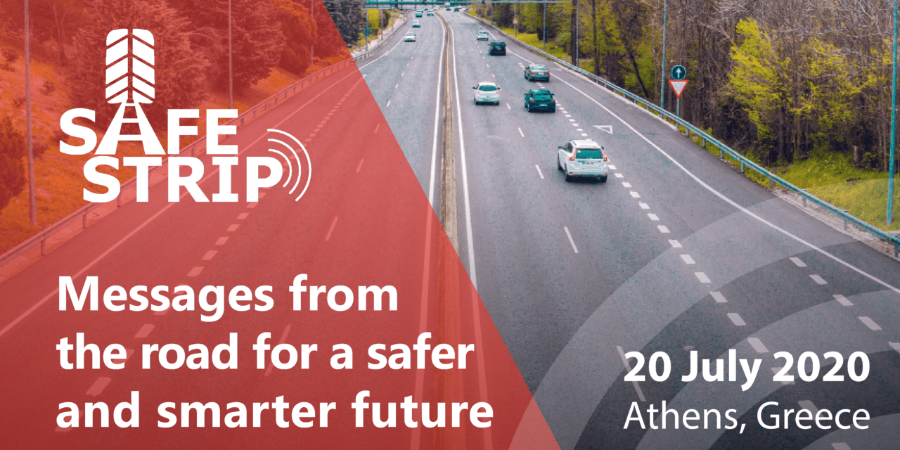"Save the date for the final event ""Messages from the road for a safer and smarter future"""