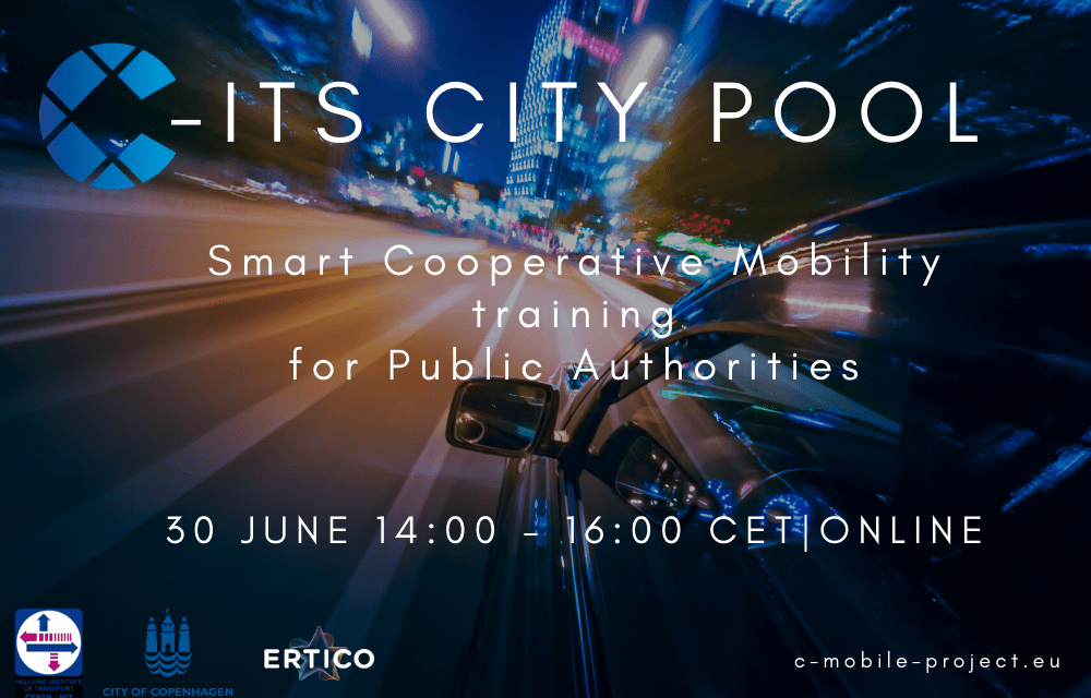 Join the C-ITS City Pool to improve mobility in your city