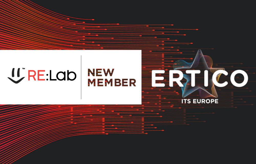 ERTICO welcomes the innovative company RE:Lab to the Partnership