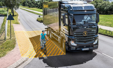 Turn Assist System for All Trucks – Continental Makes Roads Safer for Pedestrians and Cyclists