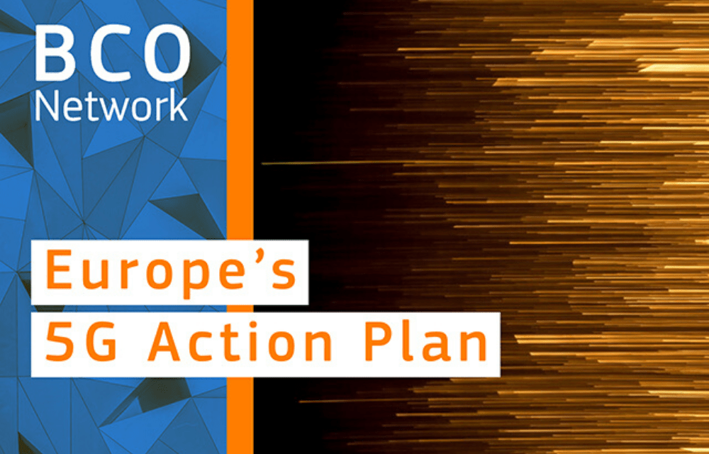 Europe's 5G Action Plan to be launched by end of 2020