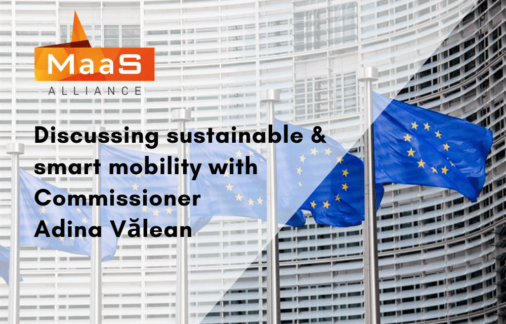 Discussing sustainable and smart mobility with Commissioner Vălean