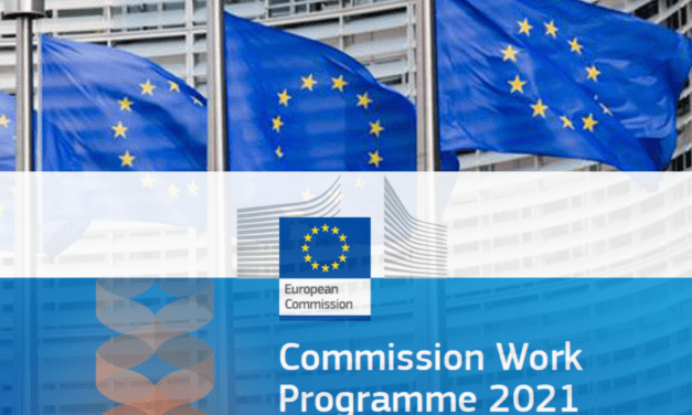 The European Commission adopts its 2021 work programme