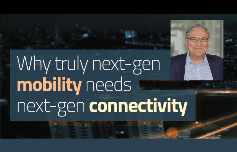 ERTICO expert Nikolaos Tsampieris reveals why next-gen mobility needs next-gen connectivity