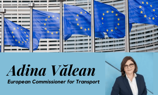 Adina Vălean, European Commissioner for Transport, expresses herviews on the VirtualITS Congress