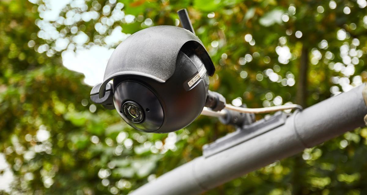 Thermal imaging cameras record bicycles in Hamburg