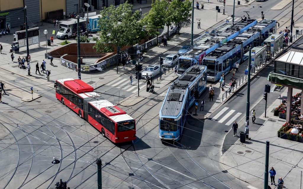 Technolution Move creates a new systemgranting public transport priority in Oslo