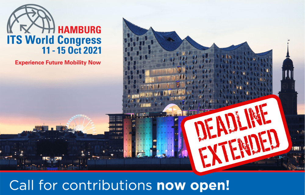 ITS World Congress 2021: Deadline is Extended for Call for Contributions