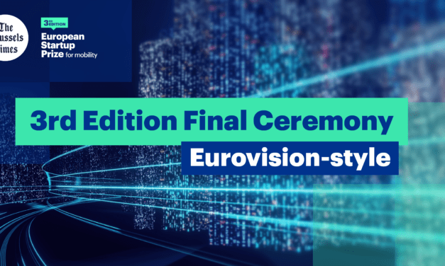 ERTICO announces the European Startup Prize for Mobility final ceremony