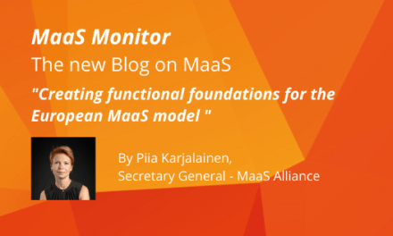 MaaS, the European digital mobility innovation that provides affordable, accessible and clean transport solutions