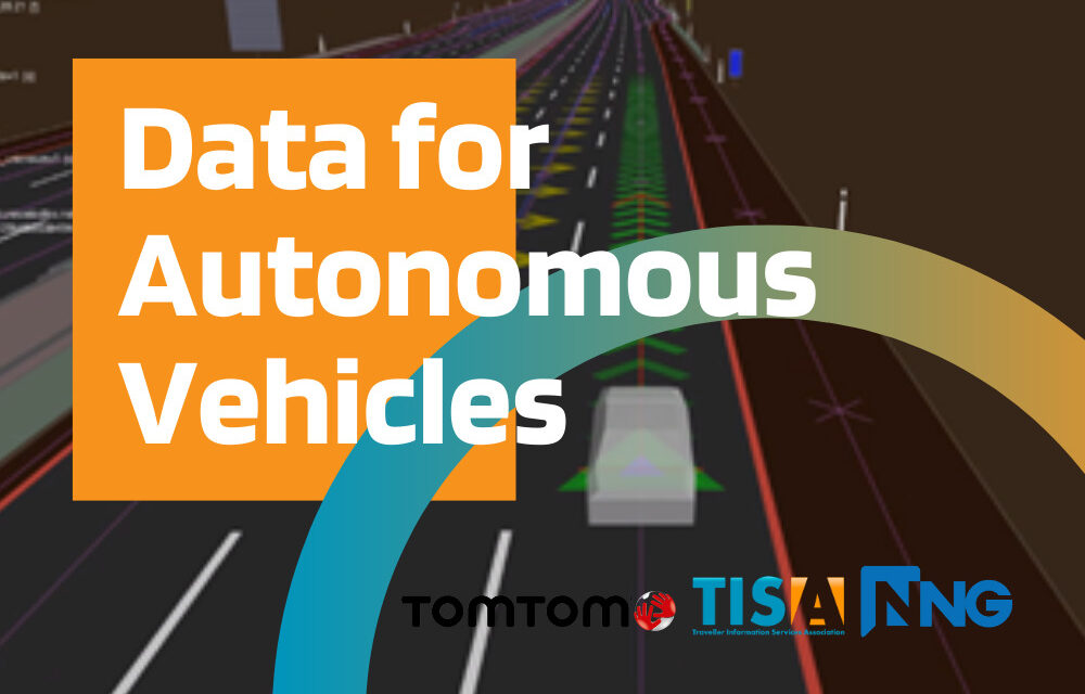 Real time transmission of external data for automated driving demonstrated with TPEG