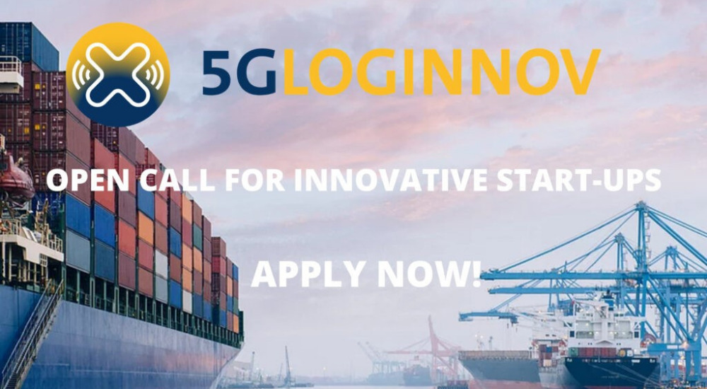 5G-LOGINNOV Call for innovative start-ups now open!