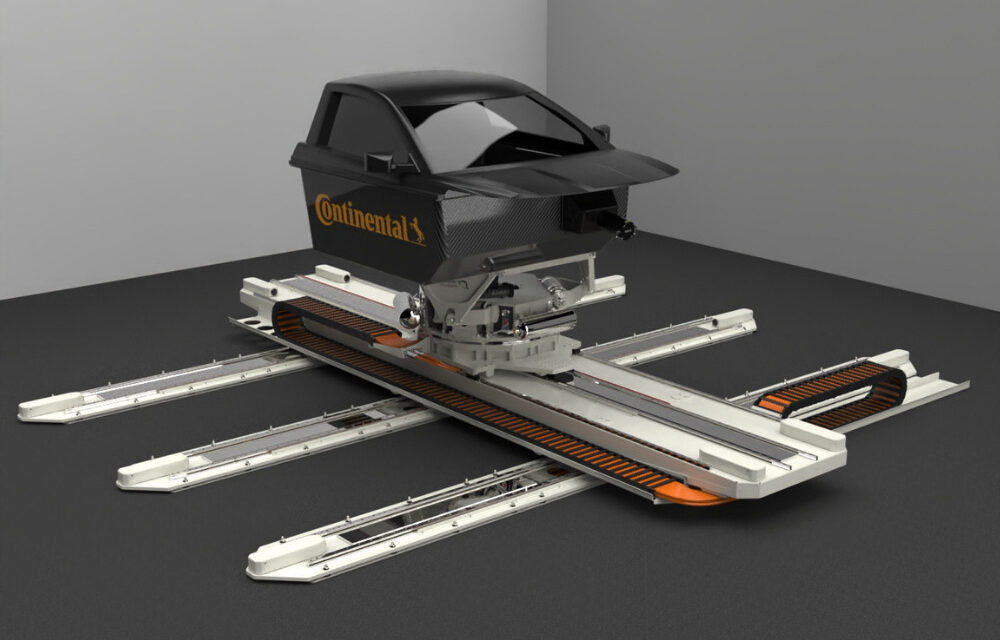 Continental to test tires in Dynamic Driving Simulator
