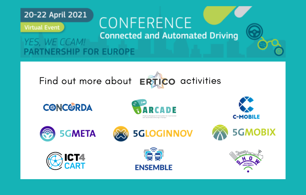 Join ERTICO at the EUCAD 2021 to talk about ITS and CCAM