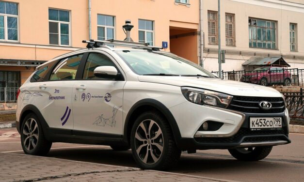 Russia presents its first own self-driving vehicle