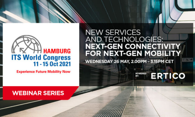 Join the 2nd ITS World Congress Webinar on 26 May and learn about 'Next-Gen Connectivity for Next-Gen Mobility'!