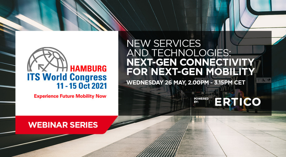 Speakers announced for ITS World Congress Webinar 'Next-Gen Connectivity for Next-Gen Mobility'