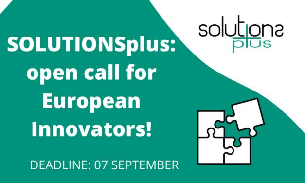European Innovators, SOLUTIONSplus wants you!