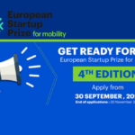 EU Startup Prize for mobility announces its 4th edition