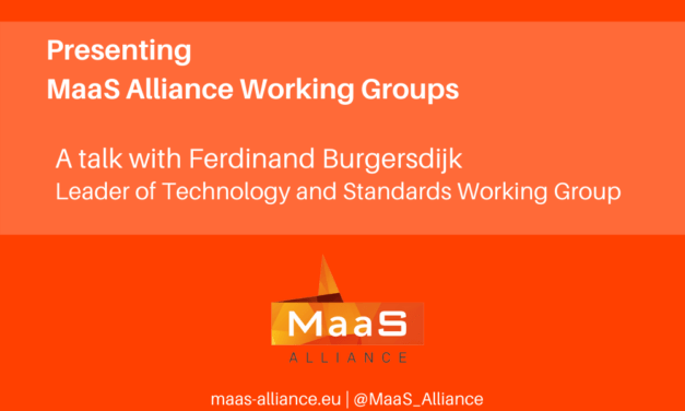 MaaS Alliance: Technology and standards