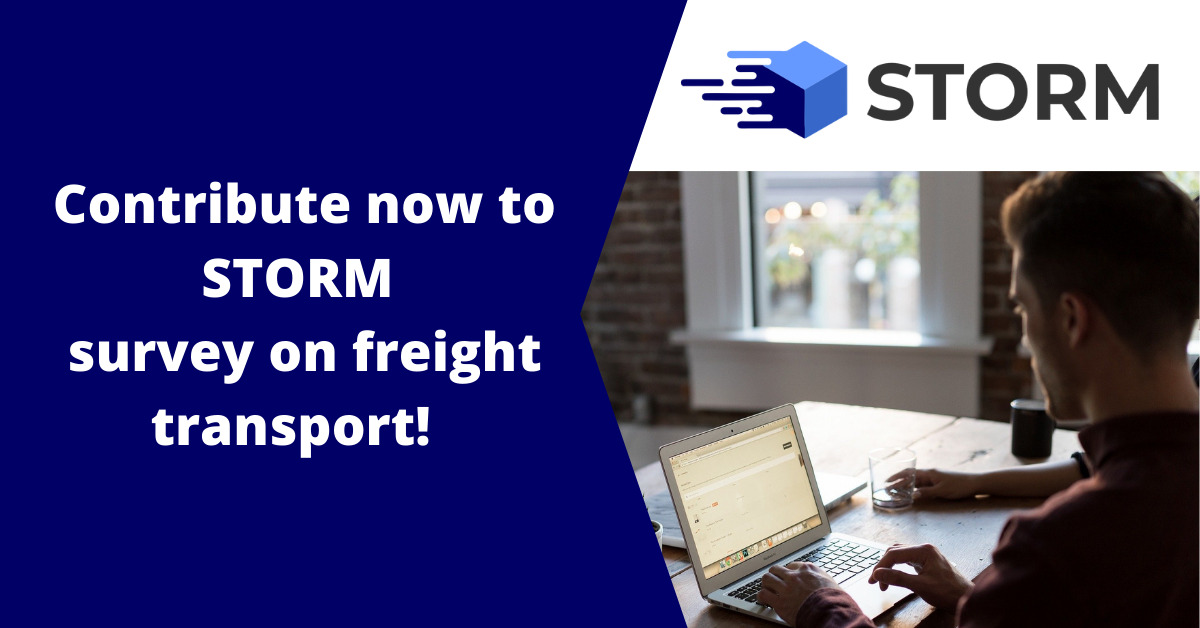 STORM looking for inputs on key trends in freight transport