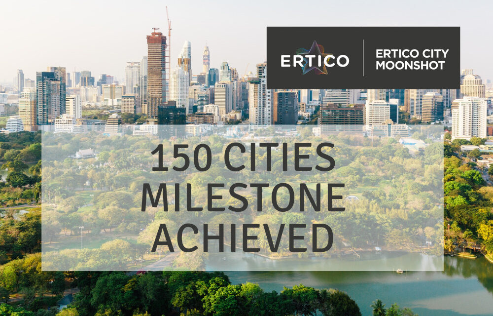 ERTICO's City Moonshot project reaches milestone of 150 cities