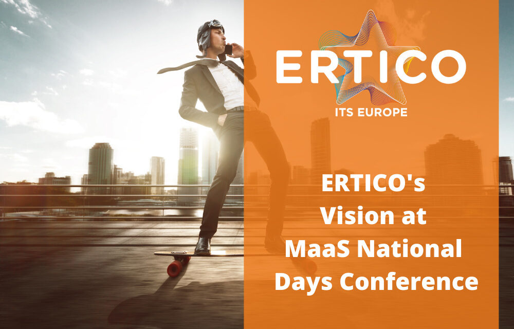 ERTICO's Vision at MaaS National Days Conference