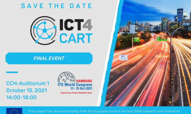 Last chance to register to ICT4CART Final Event