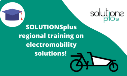 SOLUTIONSplus new thematic regional training on E-mobility