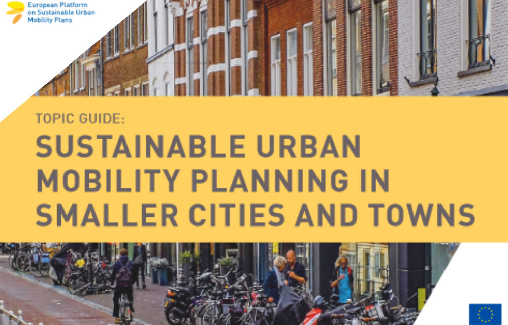 New guide on sustainable urban mobility planning